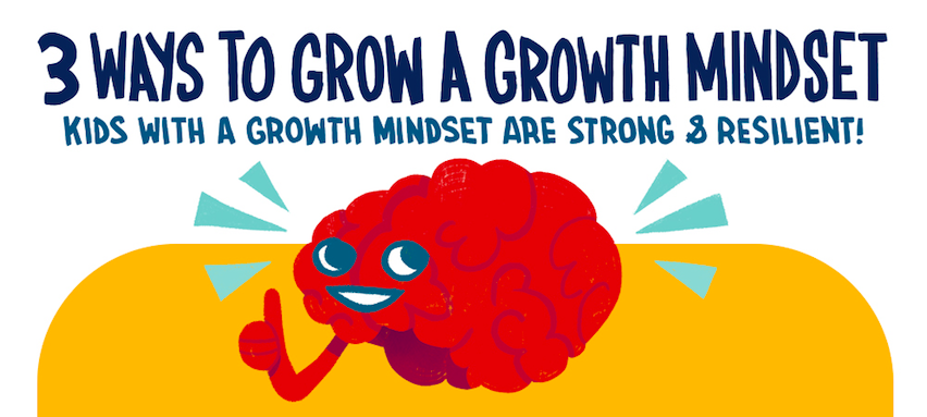 [INFOGRAPHIC] 3 Simple Ways to Grow a Growth Mindset