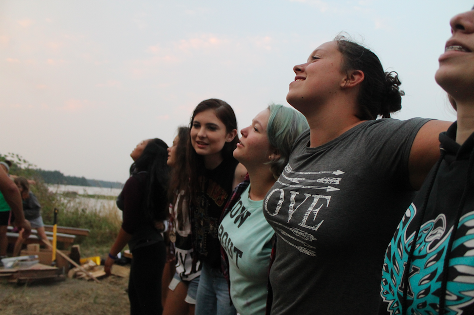 Camp Fire Transforms Youth Into Powerful Peacemakers