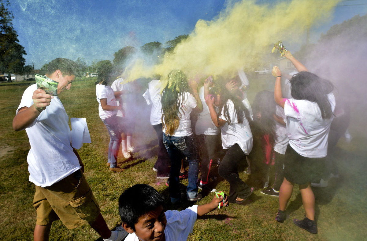 Teens in Action Make Colorful Statement