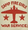 Camp Fire Girls War Saving Stamp 1918